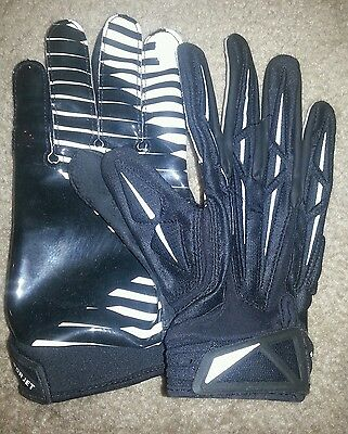 NFL game or practice used  Gloves Team Issued