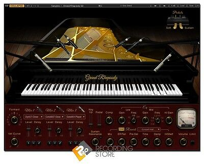 Waves Grand Rhapsody Faziolli F228 Virtual Instrument Piano Plugin AAX VST AU