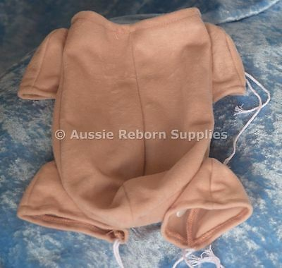 "Reborn Babies Cloth Body Suits 19 - 20"" Baby Doe Suede 3/4 Limbs Supplies 5805"