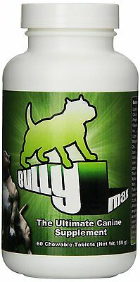 Bully Max Dog Muscle Vitamin Mineral Supplement 60 tablets - UK Official Dealer