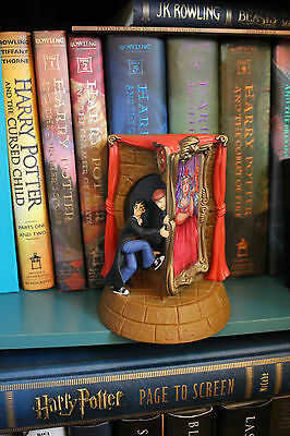 Vintage Harry Potter Enesco Coin Bank Gryffindor Entrance Fat Lady Ron Weasley