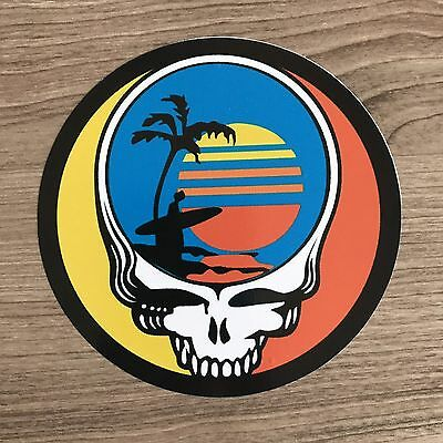 "Grateful Dead Endless Summer 4"" Wide Vinyl Sticker - BOGO"