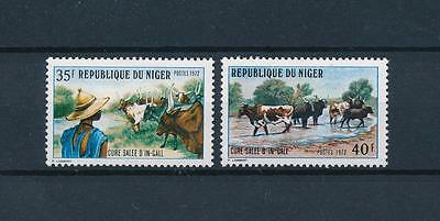 [60278] Niger 1972 Animals Cows MLH