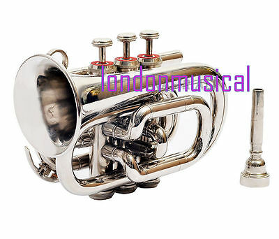 POCKET CORNET BEST QUALITY NEKEL POCKET CORNET BB Gifted
