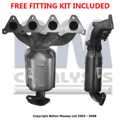 Fit with HYUNDAI COUPE Catalytic Converter Exhaust 91414H 1.6 (Fitting Kit Inclu