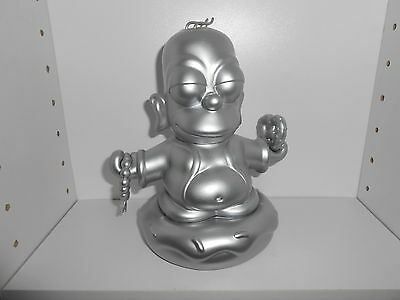 Kidrobot Simpsons 7'' Homer Buddha (Silver Edition)