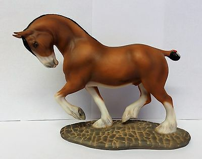 Franklin Mint, The Great Horses of the World, Clydesdale.
