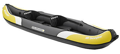 Sevylor Colorado Inflatable Two Man Canoe Kayak