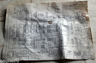 1982 Commodore 64 Floppy Disk Drive Model 1541 Full Double Sided Schematic Diagr