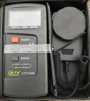 Professional Lux Digital Light Tester Light Meter CT-1330B