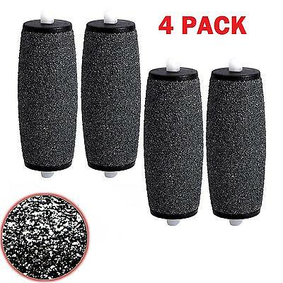 Compatible Scholl Express Diamond Pedi Coarse Replacement Roller Heads - 4 Pack