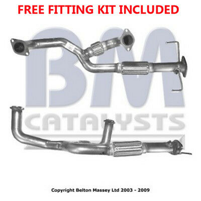 Fit with MITSUBISHI GALANT Exhaust Fr Down Pipe 70418 2.5 (Fitting Kit Included)
