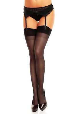 a1cfb5862ae NEW Lace Top 40 DEN Sheer Stay Hold-Ups Stockings Colours 4XL 5XXL 6XXXL  7XXXXL.  14.34 Buy It Now 21d 19h. See Details. Glamory Perfect 20 Stockings