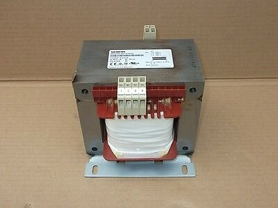 Siemens 4AM5742-5AT10-0FA0, 3RV1011-1GA10/5,4A Sicherheitstrenn Transformator