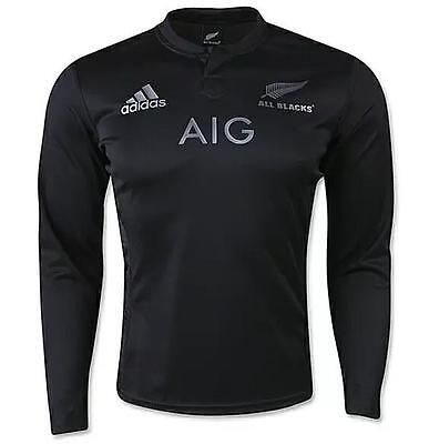 All Blacks 16/17 Home L/s Rugby Jersey