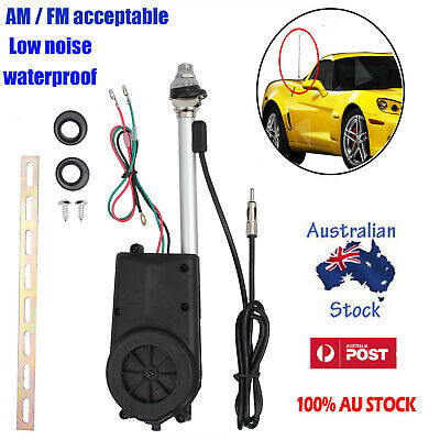 Universal Auto Car Electric Aerial Antenna Am / Fm Wing Power Booster New Au