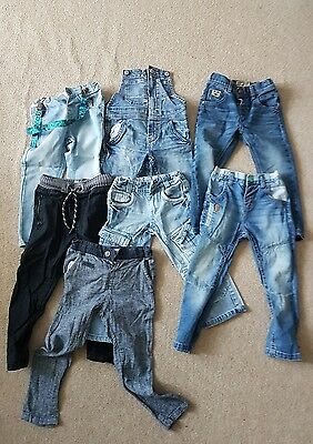 boys 2-3 years next trauser/jeans bundle