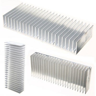 Aluminum Heatsink High Quality Cooling Fin 150mmx60mmx25mm for Power Amplifier