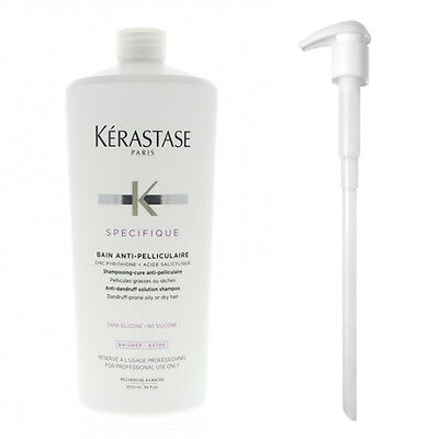 Kerastase Bain Prevention 1000 ml / Shampoo Anticaduta + POMPA EROGATORE