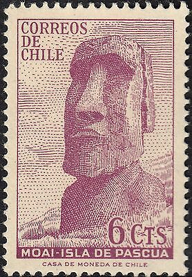 Chile 1965 6c Easter Island Discoveries MUH