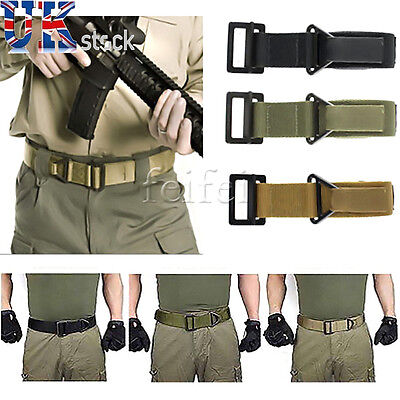 CQB Rigger Military Army Tactical Webbing Combat Trouser Belt UK