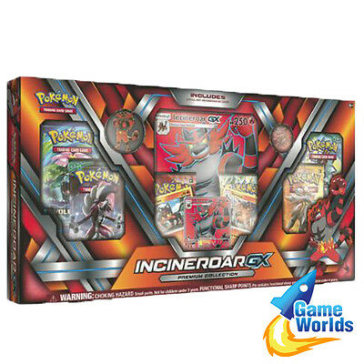 Pokémon Trading Card Game : Incineroar-GX Premium Collection Box (new & sealed)