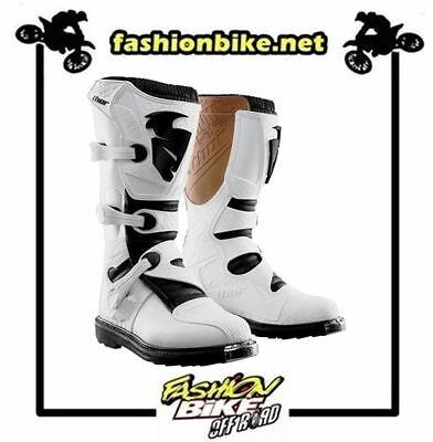 Stivali Bambino Motocross Enduro, Thor Youth Blitz Boot White