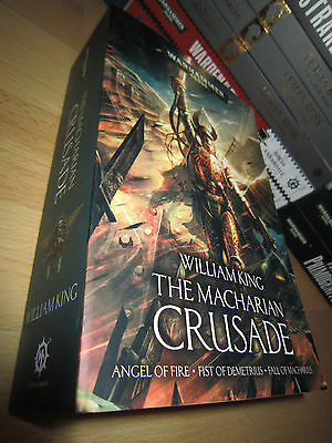 William King THE MACHARIAN CRUSADE Omnibus 1st/Pb MINT Warhammer 40K