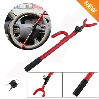 Steering Wheel Lock Anti Theft Security System Car Truck SUV Auto Club Sale VIP