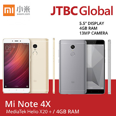 Xiaomi Redmi Note 4X 5.5 Inch Dual Sim 64GB 13MP Factory Unlocked Android Phone