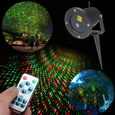 Garden Party Light Shower Projector Holiday Outdoor Led Laser Home Xmas Lighting