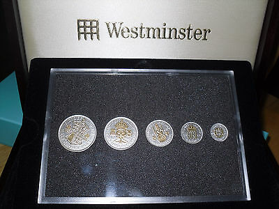 Silver WW II Coin Set (.500 + 22ct gold). Boxed. Beautiful, historic collection.