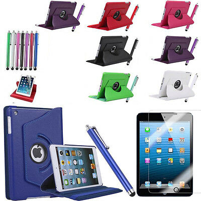 New iPad Mini 123 Mini 4 Case 360 Rotating Stand Flip Case Cover for iPad Mini