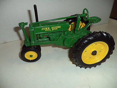 """John Deere Cast Iron Toy Tractor, 10"""" Long By ERTL VG Condition"""