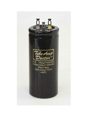 Tube Amp Doctor Gold Cap Radial Can Type Capacitor (Various Values)