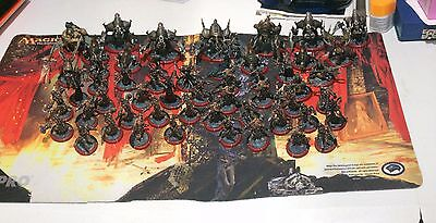 Warmachine Cryx Army - Majority painted - Plus Accessories