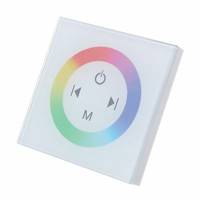 touch controller dimmer switch light intensity for LED wall lamp RGB PK