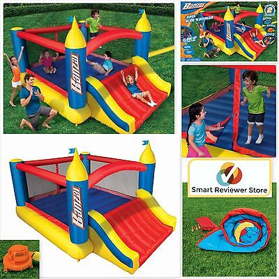 Inflatable Bounce House With Slide Bouncer Jumper Bouncer Castle Bounce House