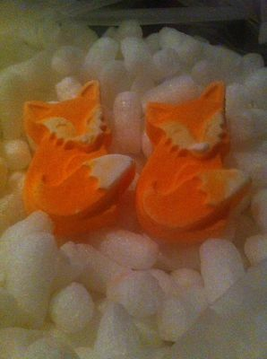 Lush Summit Exclusive Fox Bathbomb X 2 *Very Rare*