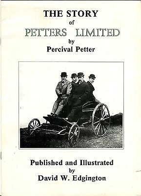 The Story of Petters Ltd. 1933