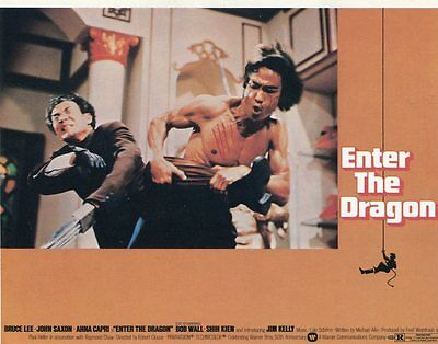 Bruce Lee Enter The Dragon 1998 Mini Lobby Trading Cards NrMt-Mt 73/268