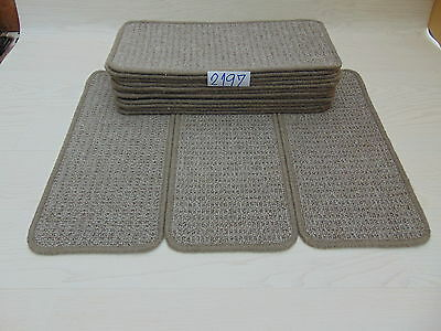 Carpet Stair pads / treads 50 cm x 23 cm 15 off   2197-3