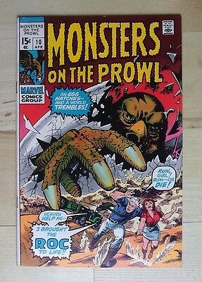 Marvel Comics Monsters On The Prowl #10 April 1971