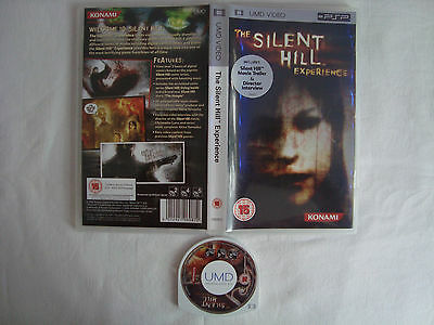 The Silent Hill Experience  Umd Video  For Sony Psp