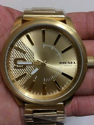 Brand New Authentic All Gold Diesel watch