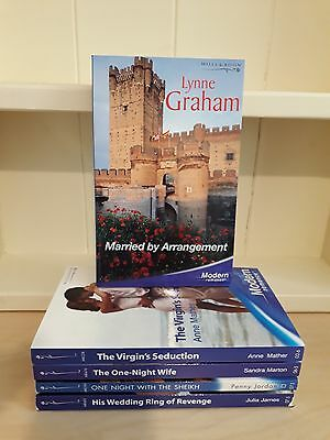 Collection of 5 x Mills and Boon PB Books - Modern - Married by Arrangement