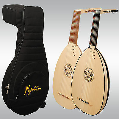 Muzikkon Renaissance Lutes, Right Handed And Left Handed With Padded Nylon Case