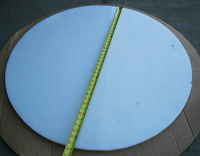 "3/4"" x 35.5"" Diameter Polyethylene Disc / Sheet HDPE New Cutoff"