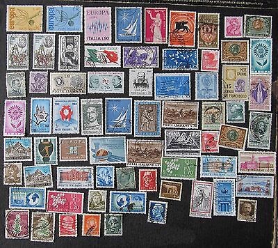 Lovely Selection Of Stamps From Italy