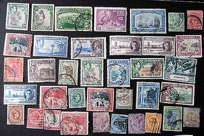 Lovely Selection Of Stamps From Jamacia From Victoria Onwards Including Some Min